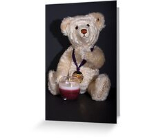 Keeping Warm Greeting Card