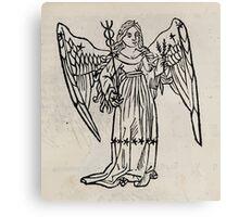 Hic Codex Auienii Continent Epigrama Astronomy Rufius Festivus Avenius 1488 Astronomy Illustrations 0139 Constellations Canvas Print