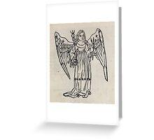 Hic Codex Auienii Continent Epigrama Astronomy Rufius Festivus Avenius 1488 Astronomy Illustrations 0139 Constellations Greeting Card
