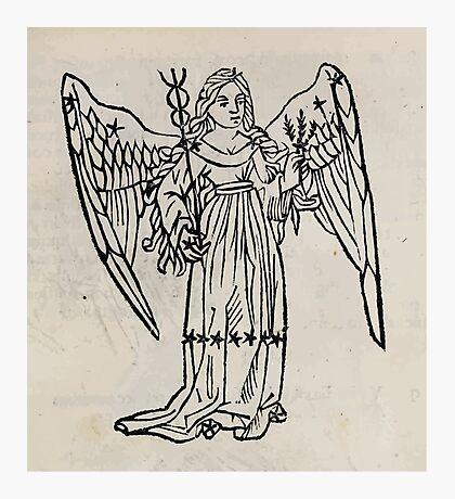 Hic Codex Auienii Continent Epigrama Astronomy Rufius Festivus Avenius 1488 Astronomy Illustrations 0139 Constellations Photographic Print