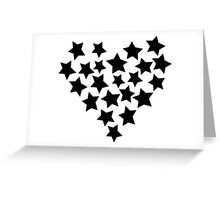 Star Heart Greeting Card