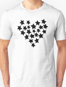 Star Heart Unisex T-Shirt