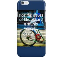 RIDE THE WAVES iPhone Case/Skin