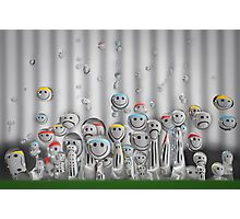 Droplet Meeting Photographic Print