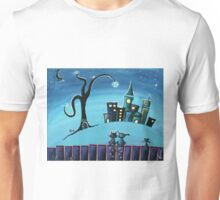 No Place Like Home - Whimsical Art by Valentina Miletic Unisex T-Shirt