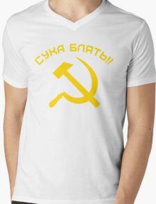 CYKA BLYAT Mens V-Neck T-Shirt