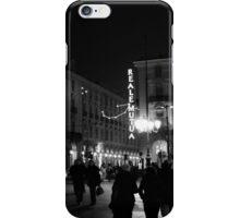 Torino: Piazza Castello iPhone Case/Skin