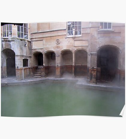 The Roman Baths - Bath Poster