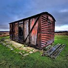 The Old Railway Carriage by taffspoon