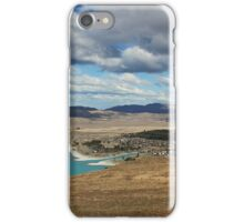 Tekapo village iPhone Case/Skin