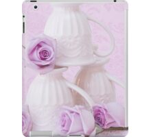 My Favorite Cream Lace Mugs iPad Case/Skin