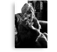 Furs and Cigarettes (ltd ed) Canvas Print