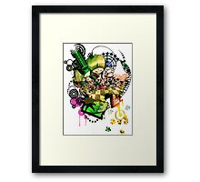 You Call This a Utopia? Framed Print