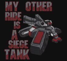 Siege Tanks, I Drive Them Kids Clothes