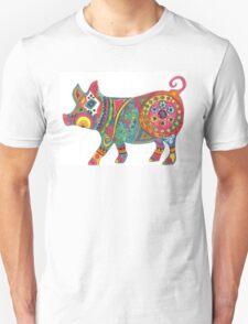 Bright Beautiful Pig! T-Shirt