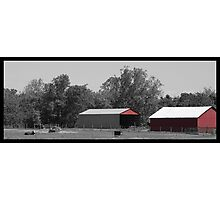 Country Red Photographic Print