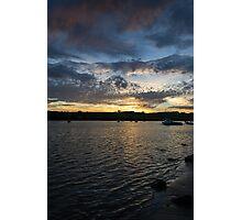 Alnmouth Sunset. Photographic Print