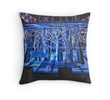 Blue Christmas! Throw Pillow