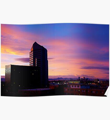 Denver Sunset Poster