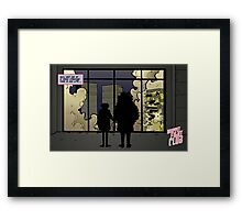 Strange time in my life Framed Print