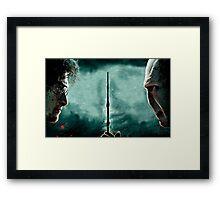 Harry Potter Vs Lord Voldemort Framed Print