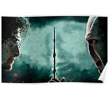 Harry Potter Vs Lord Voldemort Poster