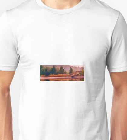 Beauty On the Back Water Unisex T-Shirt
