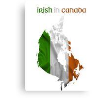 Irish in Canada Canvas Print