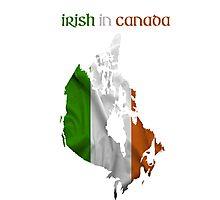 Irish in Canada Photographic Print