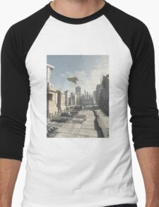 Future City Street Men's Baseball ¾ T-Shirt