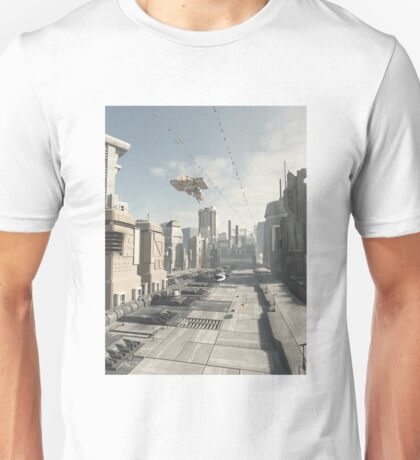Future City Street Unisex T-Shirt