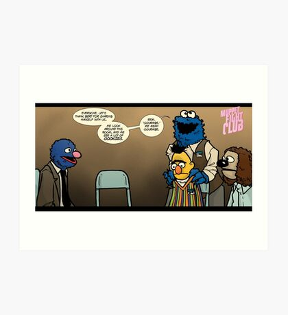 Remaining Muppets Together Art Print