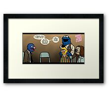 Remaining Muppets Together Framed Print
