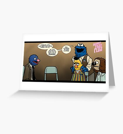 Remaining Muppets Together Greeting Card