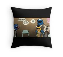Remaining Muppets Together Throw Pillow