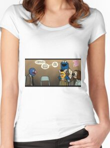 Remaining Muppets Together Women's Fitted Scoop T-Shirt