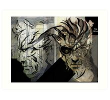 Mag Ama (Father And Son) Art Print