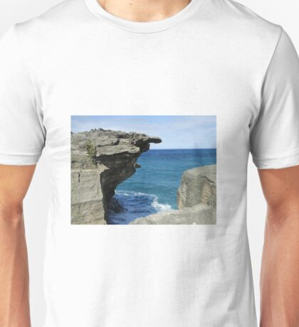 The sea and rocks Unisex T-Shirt