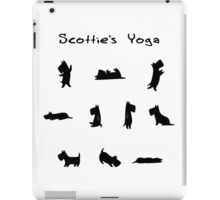 Scottie's Yoga iPad Case/Skin