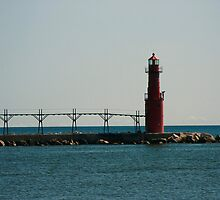 Algoma Pierpoint Lighthouse by eaglewatcher4