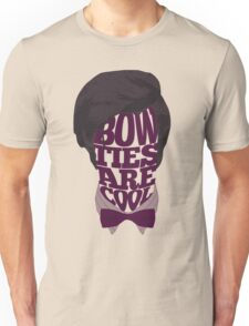 Bow Ties Are Cool Unisex T-Shirt