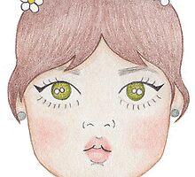 60s Doll Pattern by xxxJxxx