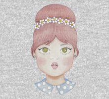 60s Doll Pattern Kids Tee