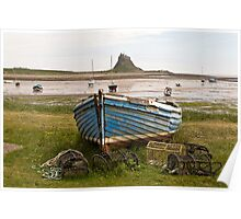 Lindisfarne Castle: Northumberland Poster