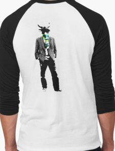 Cow Head on white T-Shirt
