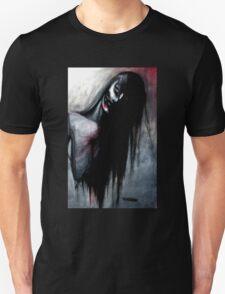 """Zombie Girl"" Dark Art by VCalderon T-Shirt"
