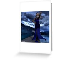 Come, walk the dock with me Greeting Card
