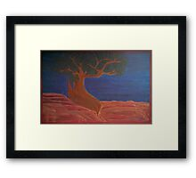 Welcome Back Juniper Tree 2015 Framed Print