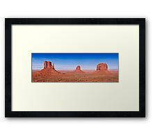 Monument Valley Panorama Framed Print