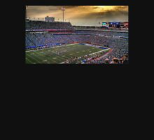 Ralph Wilson Stadium at Dusk Mens V-Neck T-Shirt